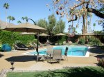 Hotel Pool and Sun Loungers