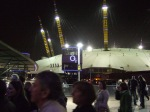 Outside of The O2