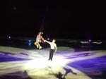 The flying Bolero