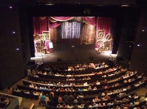 Derren Brown's stage set