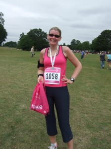 I completed the Race for life!